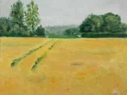 Dutch landscape oil painting